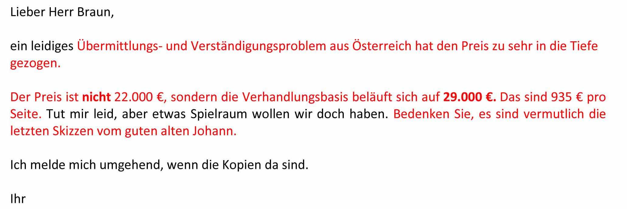 Bodendorff Übermittlungsproblem Tiefe