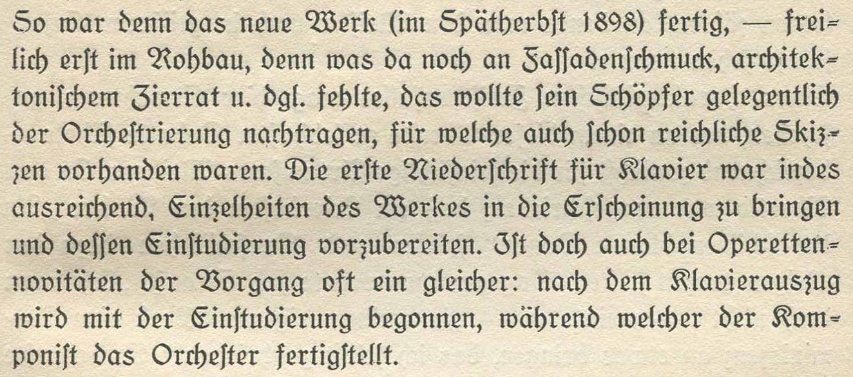 Schnitzer Spätherbst 1898 Klavierauszug