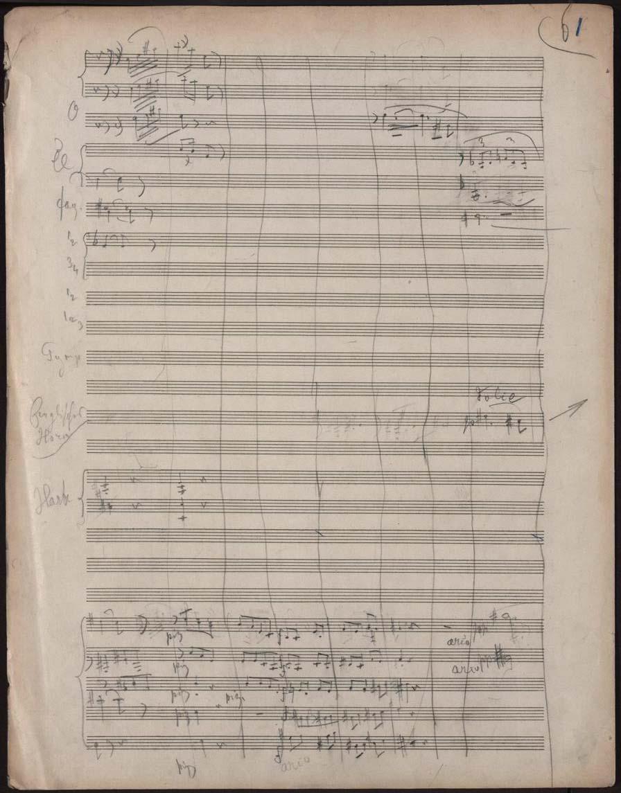 Skizze Strauss Aschenbrödel 61